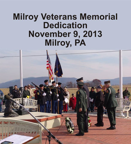Milroy Veterans Memorial Day Dedication